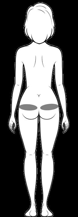 骨盤軸整体_梨状筋